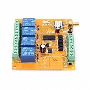 Image 4 - DC 9 38 V/AC 110 V 230 V Wifi Relais Schalter Multi Kanal Handy fernbedienung Netzwerk Modul Antenne Wireless Smart Home