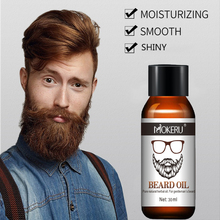 30ml Mokeru 100% Organic Beard Oil Moisturizing Hair Loss Co