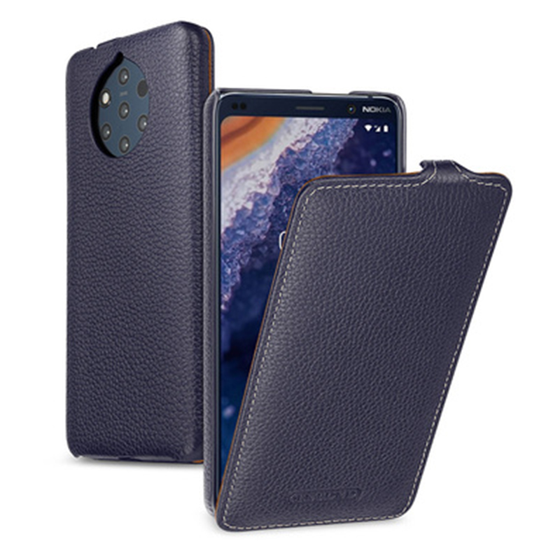 Business Flip Case Cover for NOKIA 9PureView Luxury Genuine Leather Fundas Skin for NOKIA 9 PureView Fashion Shell