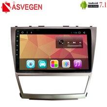 Asvegen 10,1 дюймов Android 7,1 для Toyota Camry 40 2006-2011 dvd-плеер автомобиля с gps 3g 4 г wifi BT Радио Стерео навигация Мультимедиа