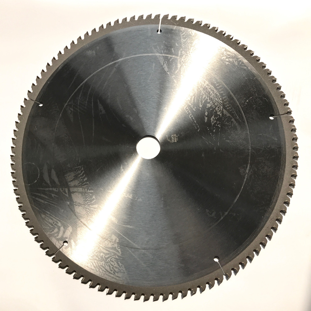 1PC Decoration Quality 355*30*3.2*100/120T TCG Teeth TCT Saw Blade Non Ferrous Metal Aluminum Copper Cutting Blades