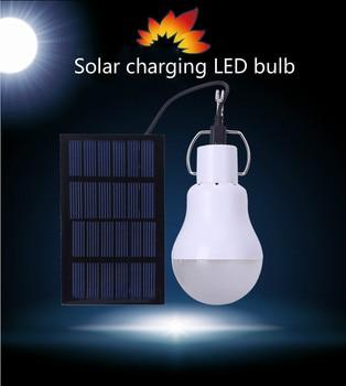 Solarzelte Für Campingzwecke | Solar Lade Licht Control Bulb Outdoor Zelt Camping Garten Licht LED Tragbare Notfall Licht