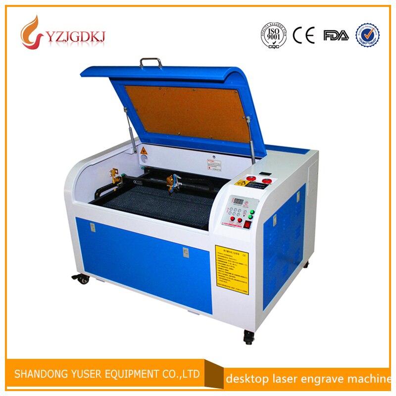 Livraison gratuite 50 w/6040 220 v/110 v machine de gravure laser avec USB support en nid d'abeille CO2 laser machine de gravure