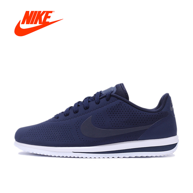 Original New Arrival NIKE CORTEZ ULTRA MOIRE Men's Light Comfortable  Skateboarding Shoes Sneakers Breathable Outdoor