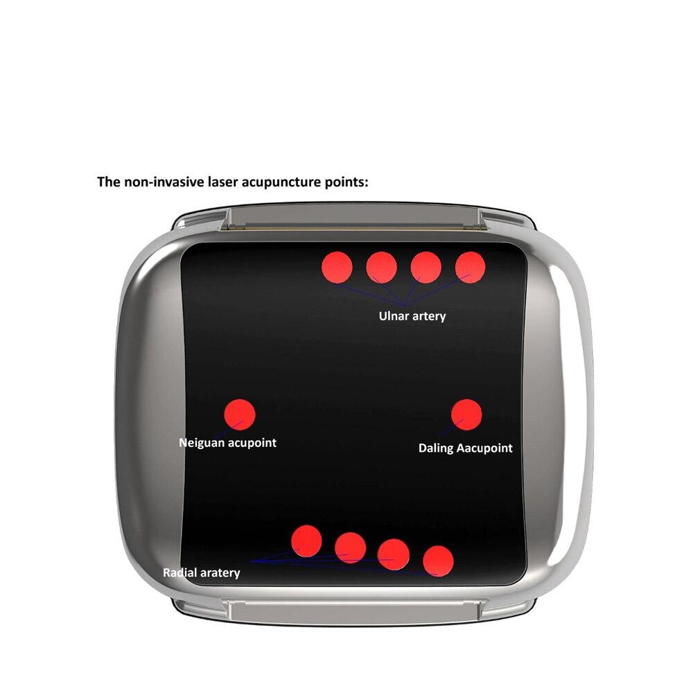 Montre de thérapie Laser réduisant la pression artérielle