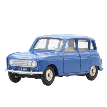 цены Dinky Toys 518 1:43 Atlas Renault 4L metal Alloy Diecast Car model & Toys Model for Collection