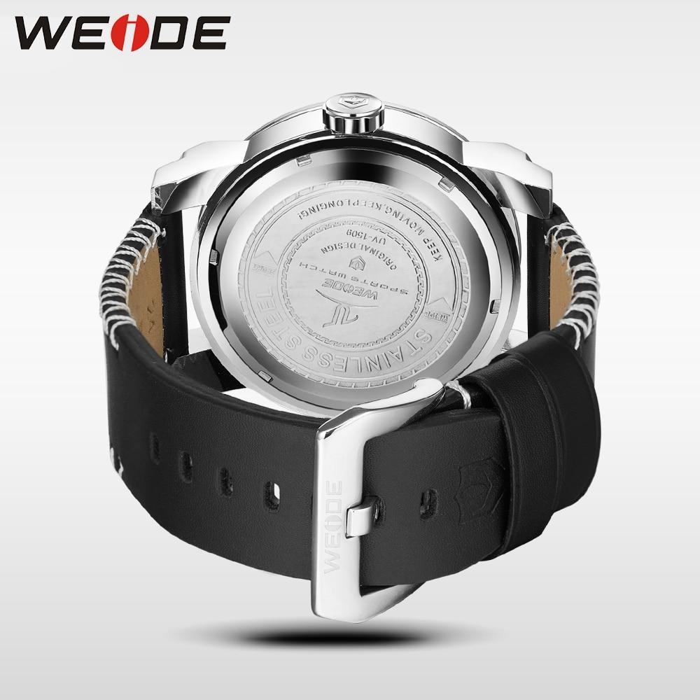 WEIDE Marca de Relojes para Hombre 30 Correa de Cuero de Alta Calidad - Relojes para hombres - foto 6