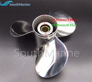 Image 5 - Hélice de aço inoxidável 11 1/8x13 g para popa yamaha 40hp 50hp 11 1/8x13 g