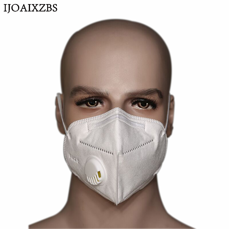 Workplace Safety Supplies Security & Protection Hot Sale 5pcs Disposable Outdoor Humidifying Anti-fog Haze Mask Respirator Peppermint Pm2.5 Anti Dust Haze Mouth Muffle Face