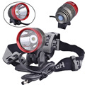 SingFire SF-90 CREE XML T6 800lm White 4-Mode Bicycle LED Headlamp - Black + Red (4 x 18650)