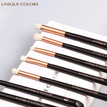UNIQUE COLORS Make-up Brushes Set 5 pieces Eyeshadow Lip Eyebrow Blush Concealer Brush Natural Bella Fiber Make Up Tools