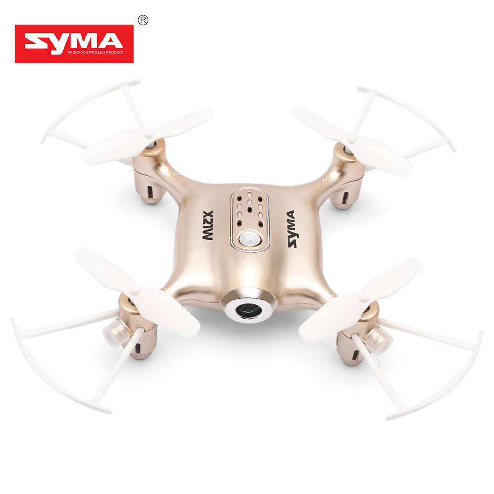 SYMA X21W Mini Drone with HD Camera WIFI FPV Helicopter 2 4GHz 4CH 4Aixs Gyro Altitude