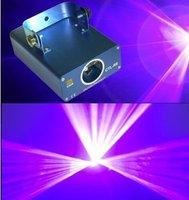 Promotions DMX dj disco beleuchtung show ausstattung 100 mW 405nm Violetten laser Sound Aktiv