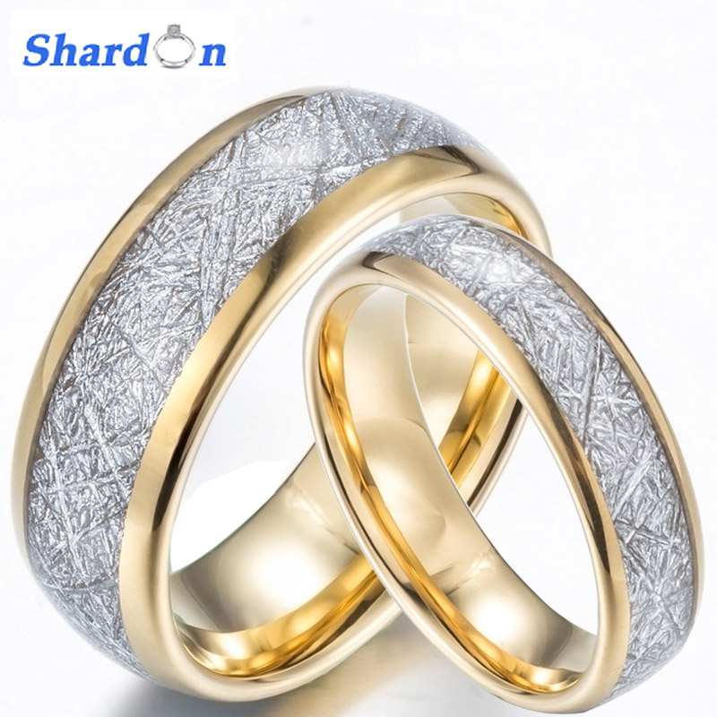 New 2017 SHARDON 8mm tungsten wedding ring white carbon fiber inlay mens engagement ring size 7-13 tungsten wedding bands