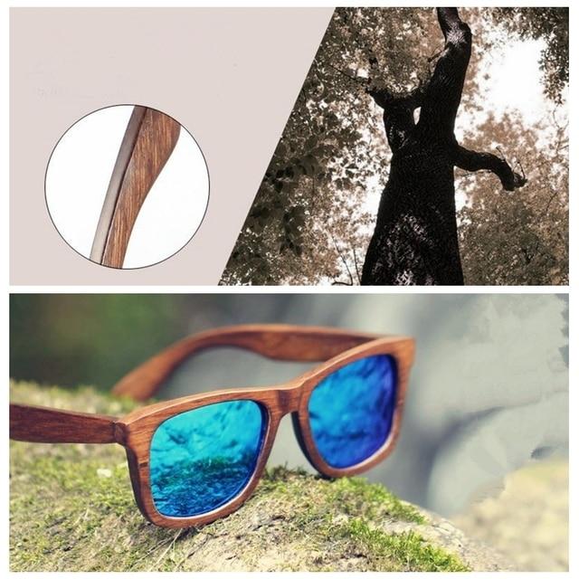 990cc6c698 2015 Royal Eyewear Hand Made RoseWood UV400 Protect Women Sonnenbrille  gafas de sol lunettes de soleil
