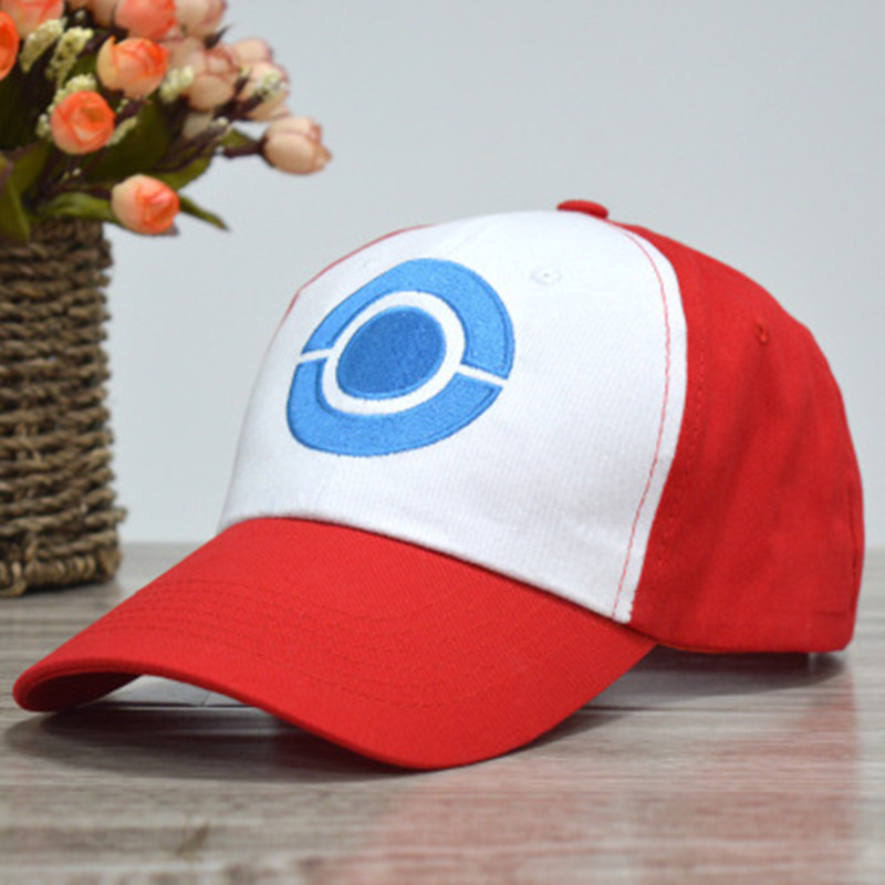 font-b-pokemon-b-font-cosplay-cap-new-visor-cap-font-b-pokemon-b-font-ash-ketchum-costume-cosplay-hat-font-b-pokemon-b-font-cap-ash-ketchum-hat-adult-kids-baseball-cap