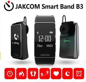 2018 new Jakcom B3 smart band watch new product of bluetooth earphone headphones With Custom Ear Plugs vs mi banda 2 smartband
