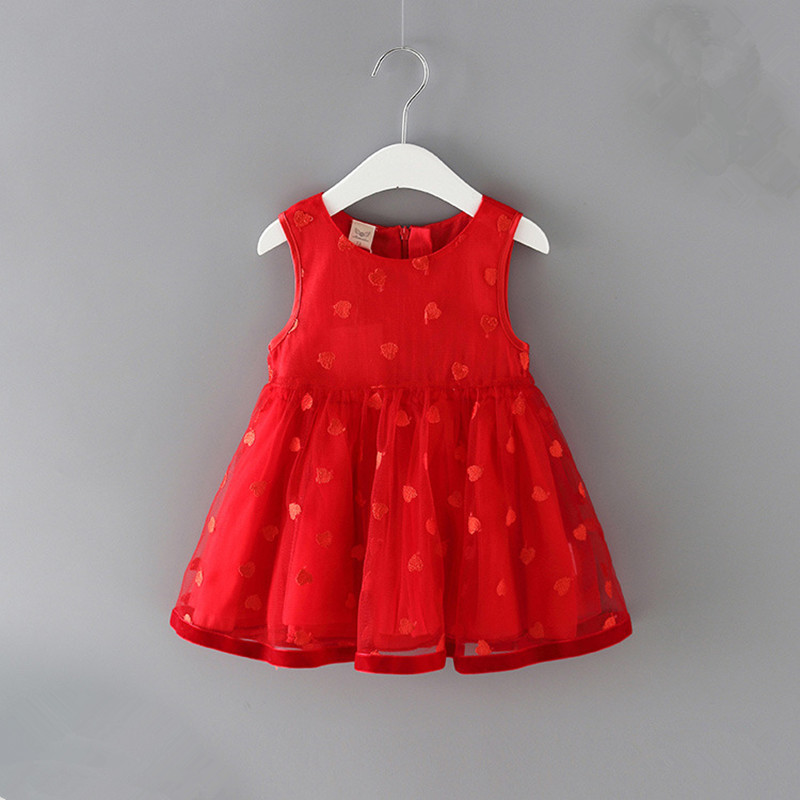 2020 Cute Princess <font><b>Baby</b></font> Girl <font><b>Summer</b></font> <font><b>Dress</b></font> For <font><b>Baby</b></font> 1st Birthday Party Tutu <font><b>Dresses</b></font> Sleeveless Newborn <font><b>Dresses</b></font> 0-2Y Vestidos image