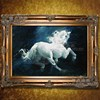 Classical Horse Racing Abstract Oil Painting Handmade High Quality Modern Wall Art Oil Painting On Canvas
