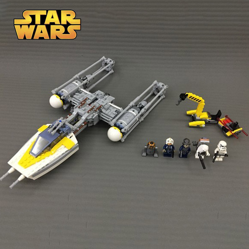 LEPINING 05065 Star Wars Series Y Wing Starfighter Model Building Block 691pcs Bricks Toys Compatible With Legoings Star Wars