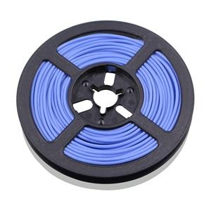 Image 5 - 50 m 164 ft 24awg flexível fio de silicone estanhado fio de cobre e cabo encalhado fio 10 cor opcional diy conexão de fio