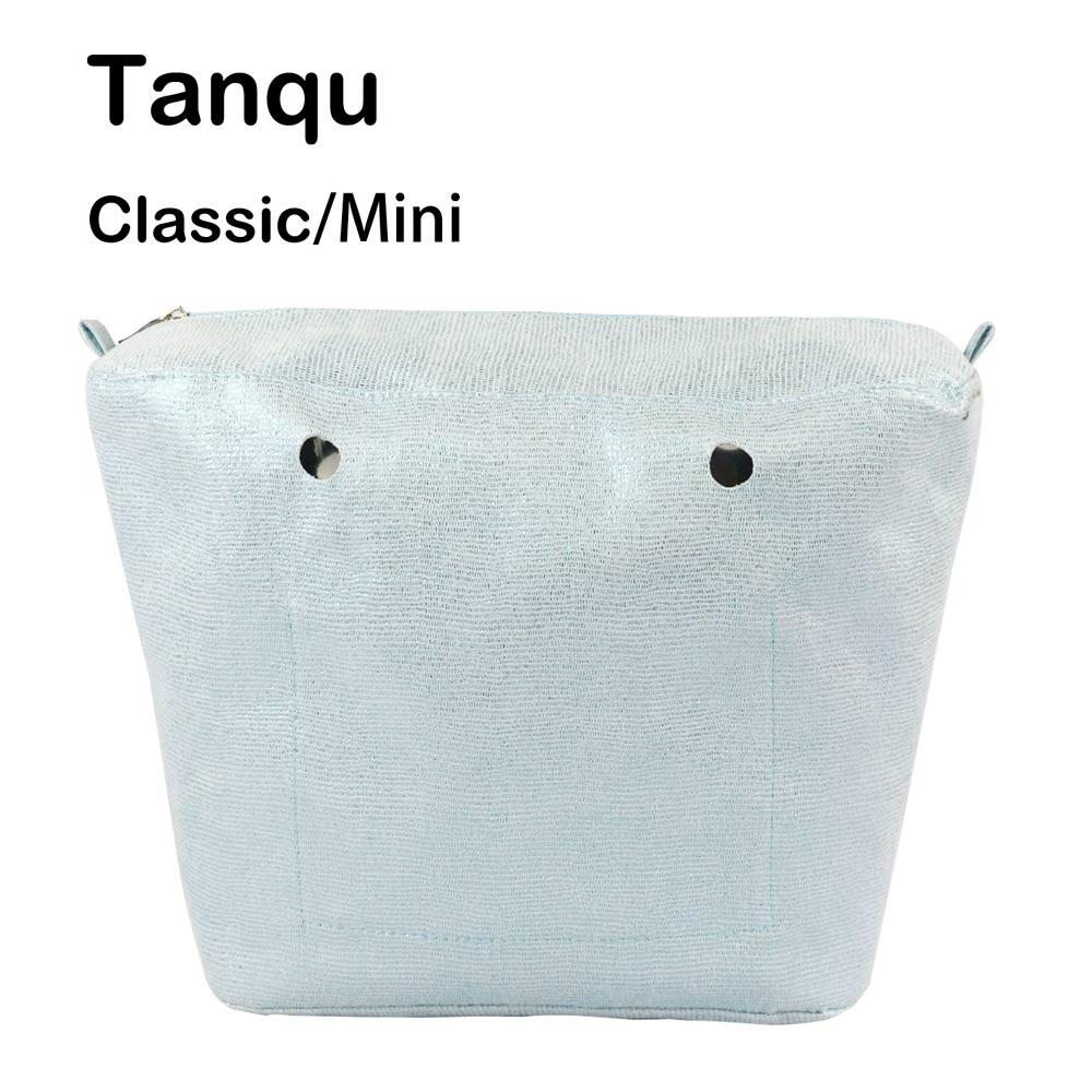 2019 TANQU 1 Piece Obag Inner Gilding Waterproof  Insert For Classic Mini O Bag  Women Shoulder Bags Totes Handbags