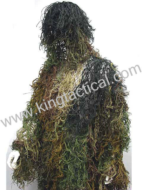 CAMO GHILLIE MILITAIRE TACTIQUE CAMOUFLAGE COSTUME 4 CHASSE PAINTBALL ghillie costume