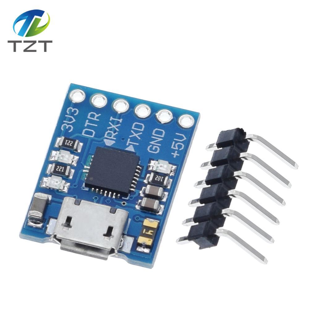 CJMCU CP2102 MICRO USB vers Module TTL UART 6 broches, convertisseur de série UART STC remplace FT232, 1 pièce, nouveau pour arduino