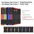 Противоударный Heavy Duty Hard Case Cover Для Samsung Galaxy Tab 3 4 Lite 7.0 Падение Доказательство Таблетки Hard Shell Для T111 T110 T115 бесплатная