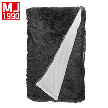 Sheep Velvet Blankets Winter Warmth Knitted Wool Mink Blanket Home Sofa/Bed Cover Quilt A/B Version Thread