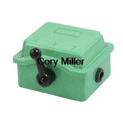 цена на AC 500V 30A QS5-30N Manual Forward Reverse Cam Starter Changeover Switch