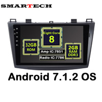 SMARTCH 9 IPS 8 Core 2 Din Android 7 1 2 For Mazda 3 2009 2014