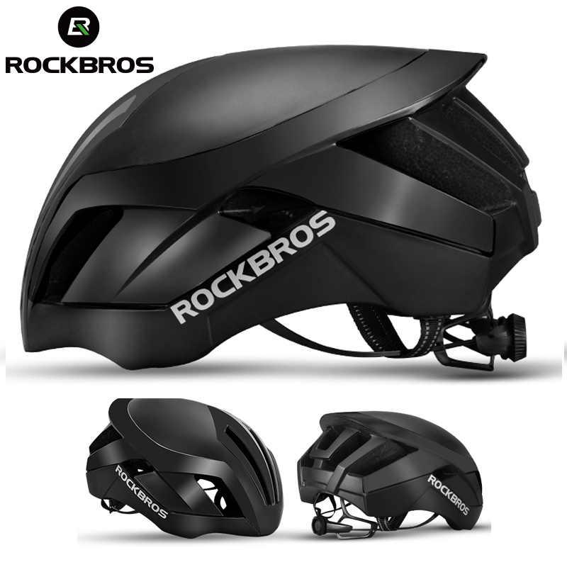 ROCKBROS Road Bicycle Helmet EPS Mountain Bike Helmet MTB Racing 3 in 1  Men s Integrally- 666008581