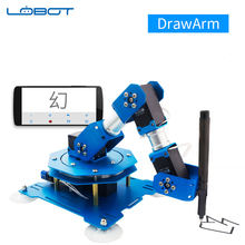 Industrial Robot Servo Arm DrawArm Writing Drawing APP Bluetooth Remote control RC Parts