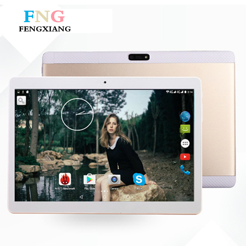 10.1 inch Quad Core 2018 Android 7.0 Tablet Pc 4GB RAM 64GB ROM IPS Dual SIM card Phone Call Tab Phone pc tablet Tablets+Gifts aoson tablet s7 pro 7 inch 4g tablets android 8gb rom hd ips screen android 6 0 phone call tablets quad core dual sim tablet