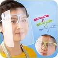 3 Colores Más Nuevo de Doble Cara Anti-Anti-niebla de humo Cocina del Anti-aceite de Cocina Face Mask Protector de Ojos escudo, envío Gratis