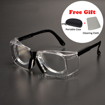 Work Safety Goggles Anti-Splash Wind Dust Proof Protective Glasses Optical Lens Frame For Research Cycling Eyes Protector new safety glasses protective motorcycle goggles dust wind s
