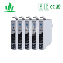 5 X T1281 compatible ink cartridge For EPSON Stylus S22 SX125 SX130 SX230 SX235W SX420W SX425W