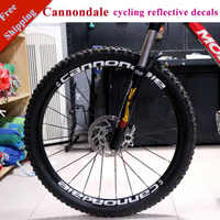 Bike Rim Decals 17 Decals MTB Two Wheel Set Stickers for 26er 27.5er 29er Inch Cannondal E Race Cycling Decals Free Shipping