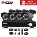 Tmezon 4CH AHD DVR 4 шт. 2.0MP 1080 P Камеры Видеонаблюдения Системы ВИДЕОНАБЛЮДЕНИЯ Открытый Водонепроницаемый ИК Ночного Видения 1 ТБ 2 ТБ HD комплект