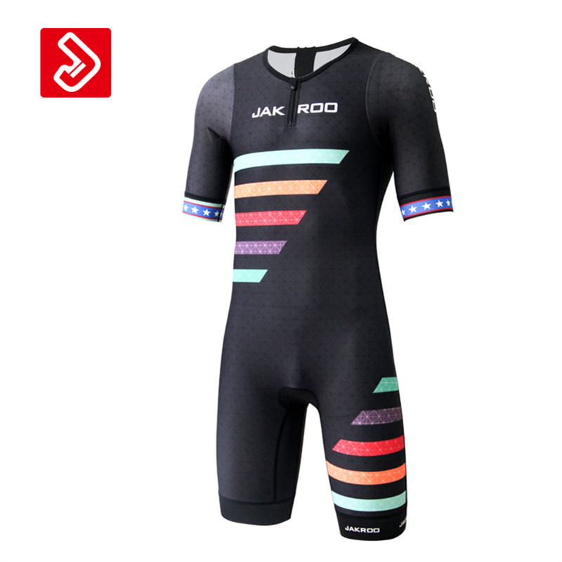 Jakroo RAINBOW Triathlon Men's Cycling Jersey Jumpsuit Swimsuit Quick-dry Sweat-releasing Water-repellent Pro Cycling Clothing смартфон philips xenium s327 royalblue
