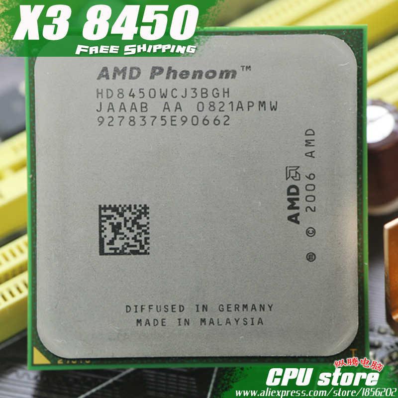 AMD Phenom X3 8450 2 1 ГГц трехъядерный процессор Socket AM2/AM2 + 940 pin cpu 95 Вт L3 = м бесплатная