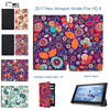 MTT Floral Tablet Case For Amazon 2017 Version All New Kindle Fire HD 8 With Alexa
