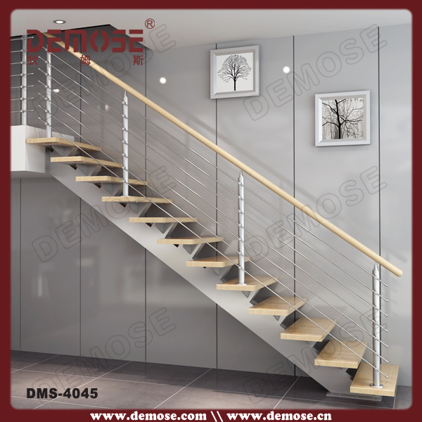 Stair Master Prefab Steel Stringers For Indoor Wooden Staircase