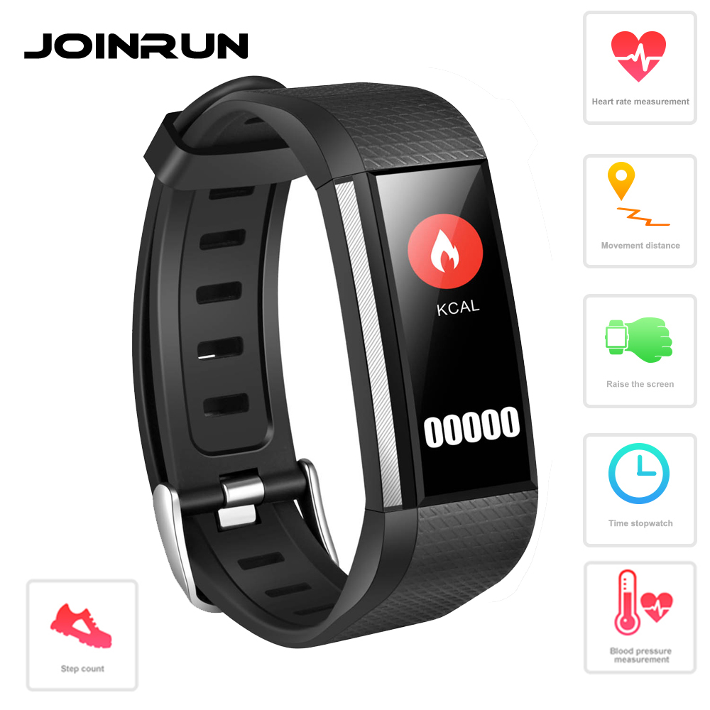 где купить Joinrun Smart Band Wistband Heart Rate Monitor Blood Pressure Oxygen Fitness Tracker SMS Reminder Smart Bracelet watch дешево