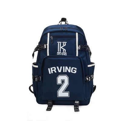 f7fe8416e8ce 2018 Kyrie Irving Backpacks Teenage Girl Backpacks Boy and Girl School Bags  women Basket Ball Cartoon