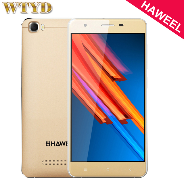 4G Original HAWEEL H1 Pro ROM 8GB+RAM 1GB 5.0 inch Android 6.0 MTK6735 Quad Core up to 1.2GHz Smartphone LTE & WCDMA & GSM GPS