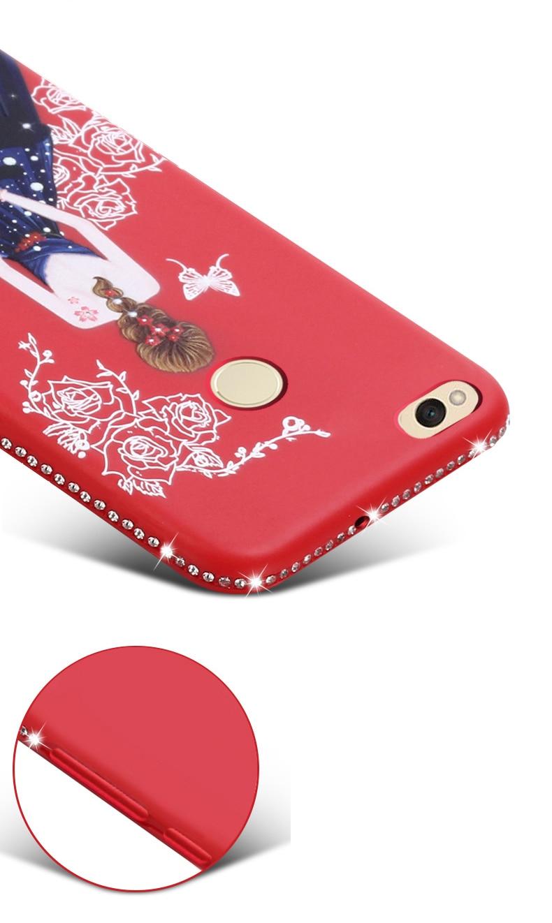 Dress girl silicone case huawei p smart (12)