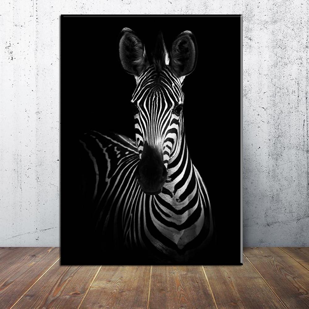 Xx3086 Home Decor Wall Art Zebra Animal Canvas Painting Print Living Room