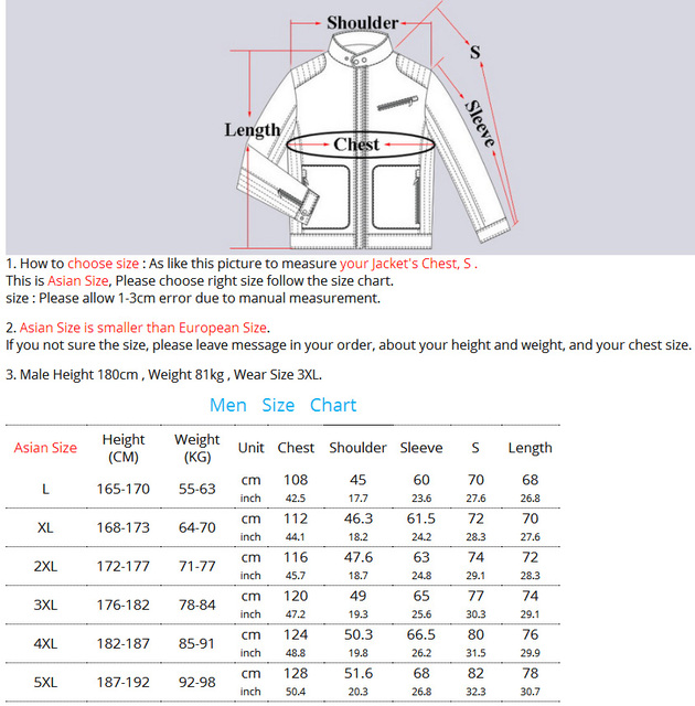 LoClimb L-5XL USB Heated Jacket Men Winter Heating Windbreaker Hiking Thermal Waterproof Jacket Men's Coat Outdoor Jackets AM361 5